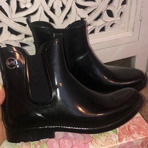 Michael Kors low cut rain boots
